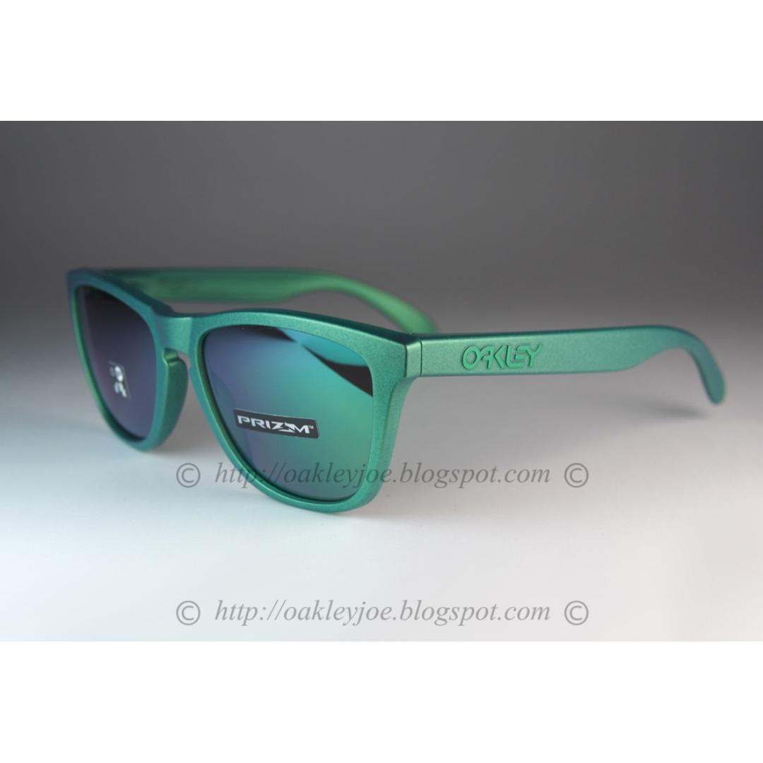 474e3867ec BNIB Oakley Frogskins Spectrum Collection gamma green + prizm jade ...