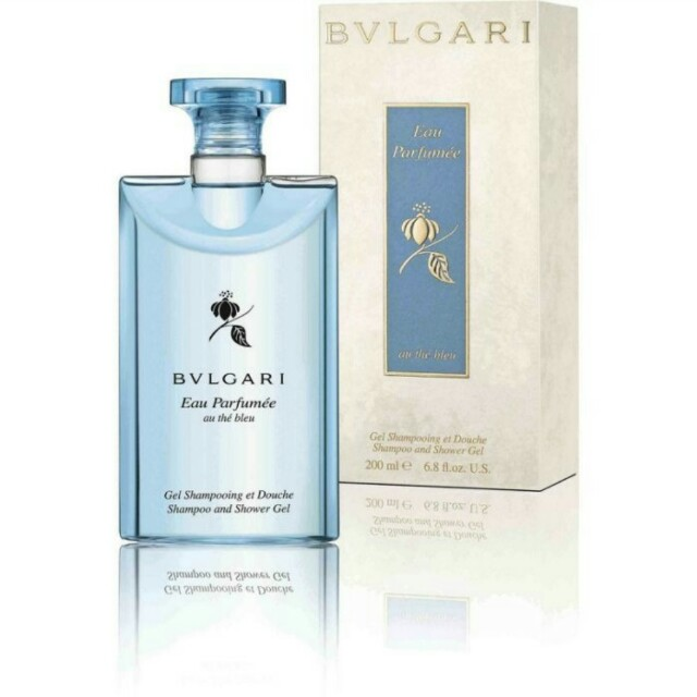 Bvlgari 藍茶香氛洗髮沐浴膠 200ml 正品