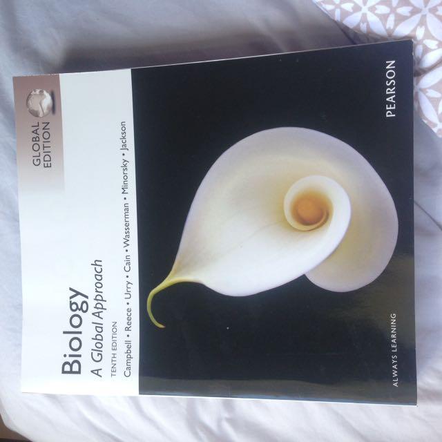 Campbell's Biology textbook