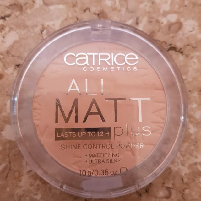 Catrice all matte plus shine control powder