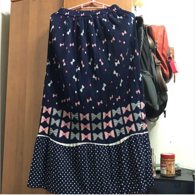 Cite korean maxi skirt
