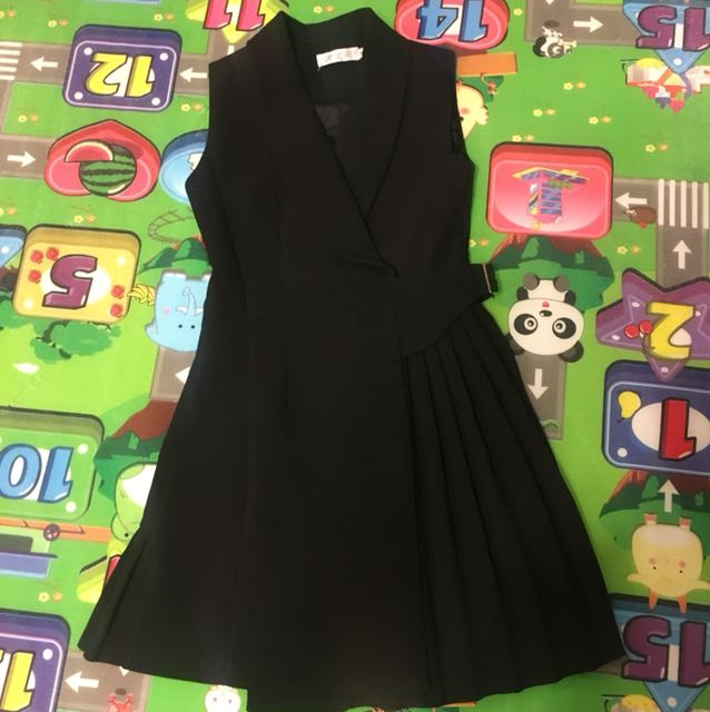 Dress/vest black office work