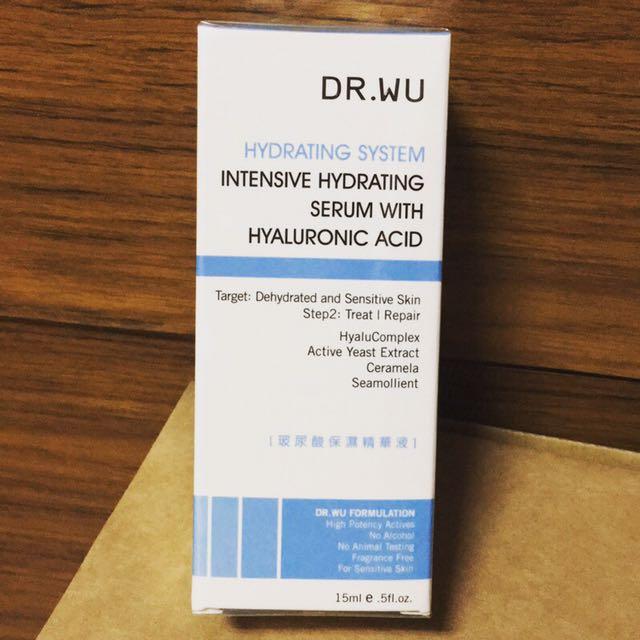 DR.WU達爾膚玻尿酸保濕精華液15ml