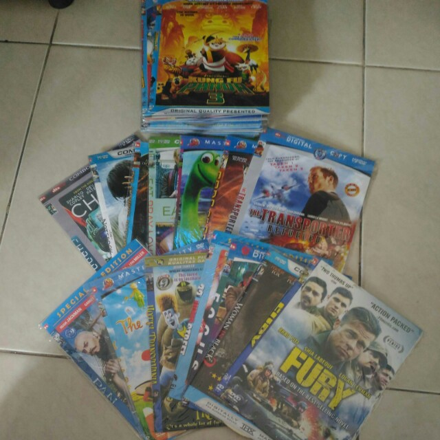 Dvd film, 10ribu 7 pcs