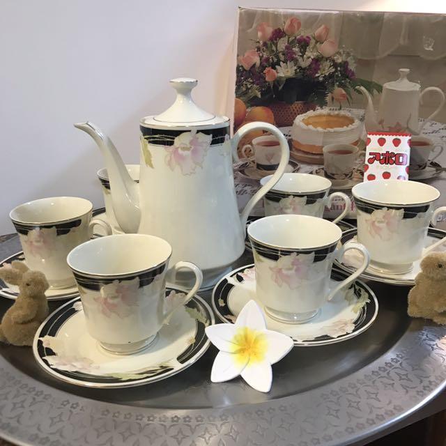Elegant High tea set