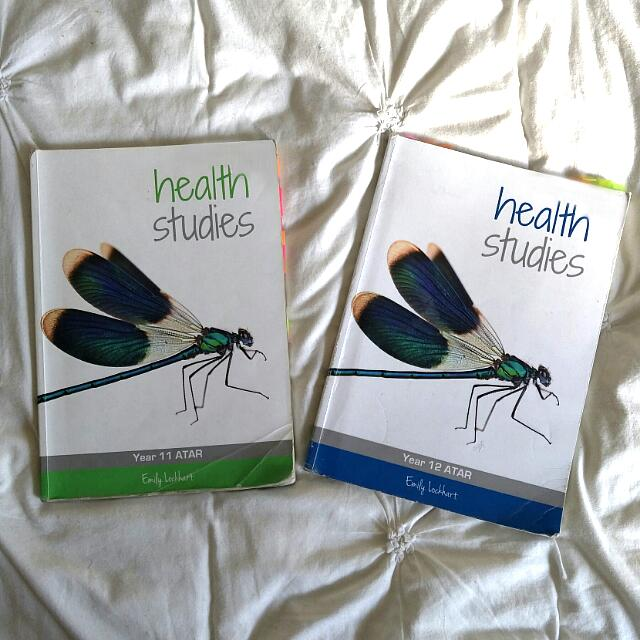EMILY LOCKHART YEAR 11 &12 HEALTH STUDIES ATAR TEXTBOOK