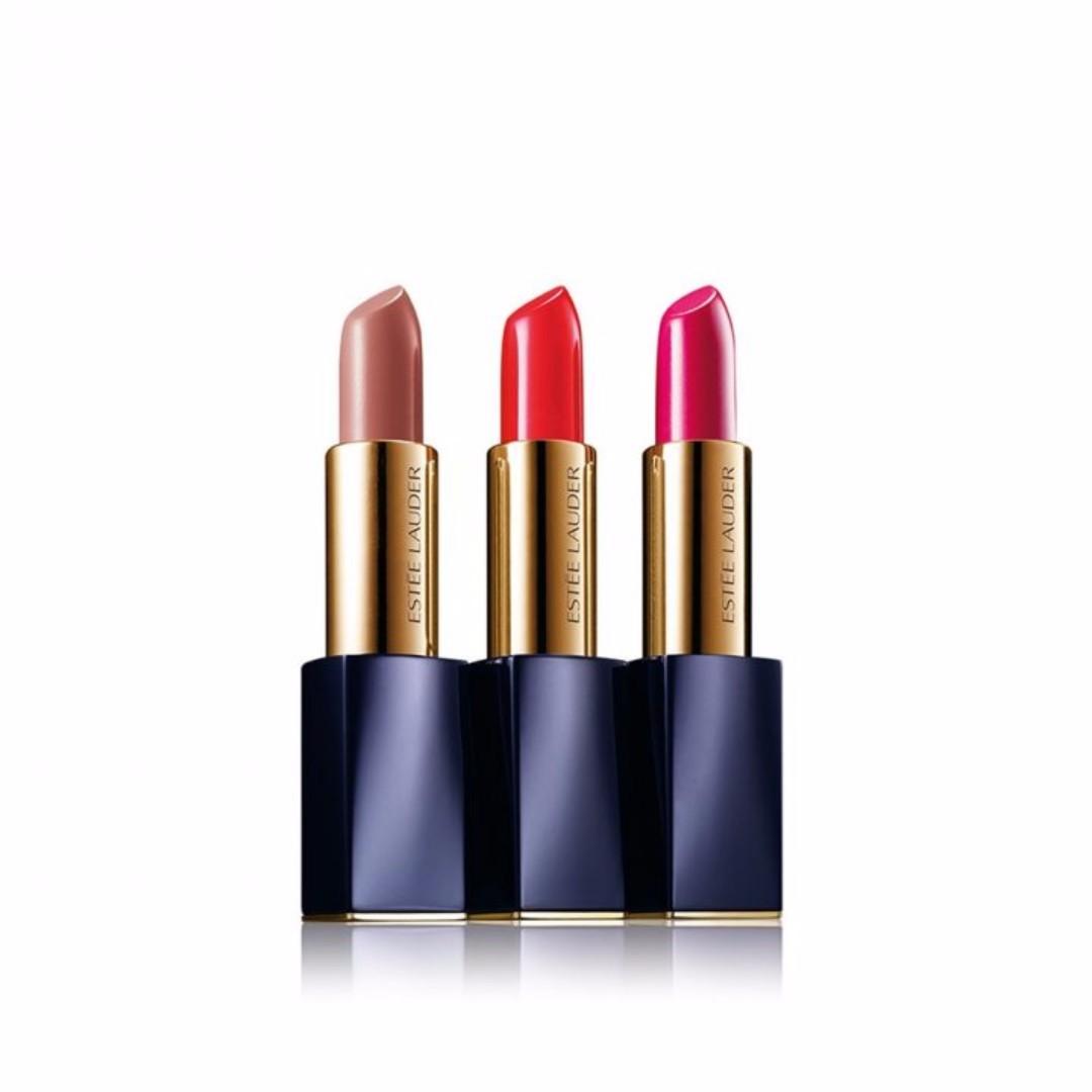 『歐洲代買』Estee Lauder 雅詩蘭黛 絕對慾望奢華潤唇膏三支裝套組 可面交自取!