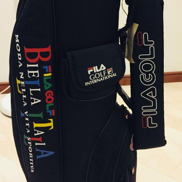 a82b37cd016 fila moda nella vita sportiva golf clubs wt original bags and clubs covers,  Sports, Sports   Games Equipment on Carousell
