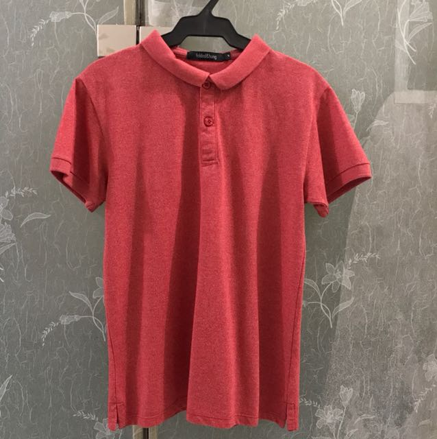 Folded and Hung Polo Shirt