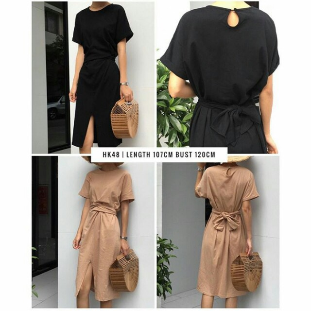 Front Tied Dress