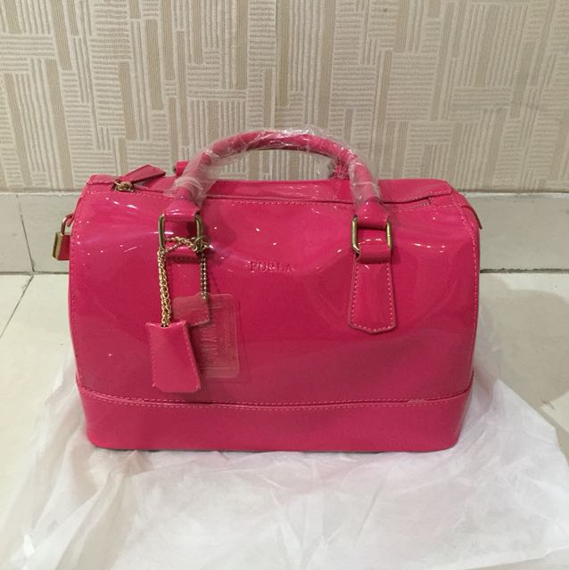 FURLA JELLY CANDY BAG MEDIUM