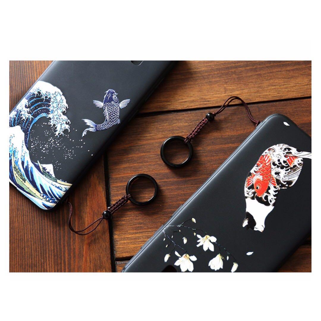 Galaxy S8 / S8+日系風格手機殼- 鯉魚