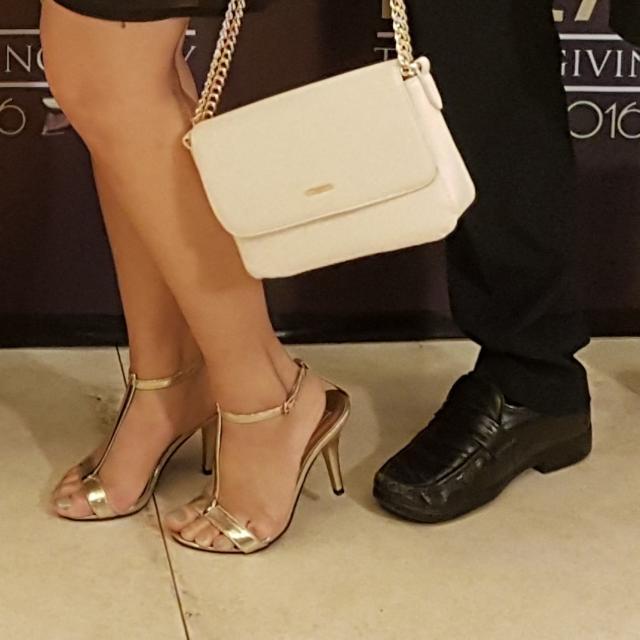Gibi Gold Sandals