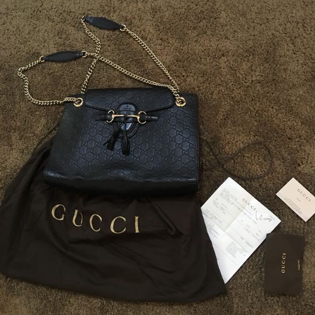 GUCCI Black Chain Bag