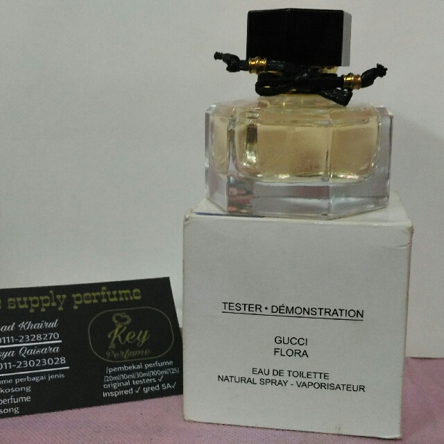 Gucci Flora Original Testers Health Beauty Perfumes Nail Care