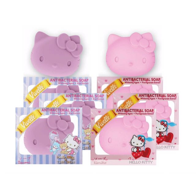 Hello kitty bath soap