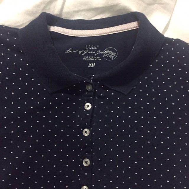 H&M Blue Shirt Dress
