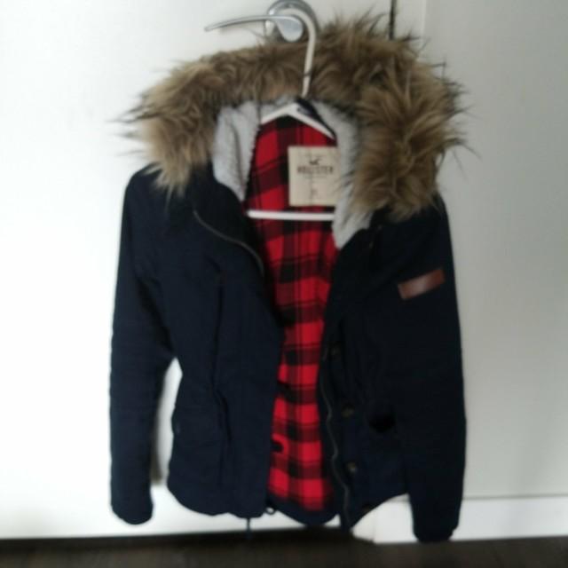 Hollister fall coat