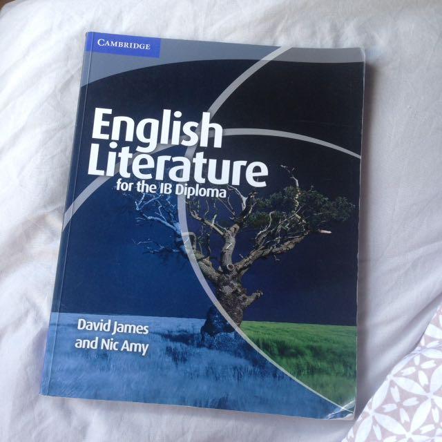 IB English literature textbook