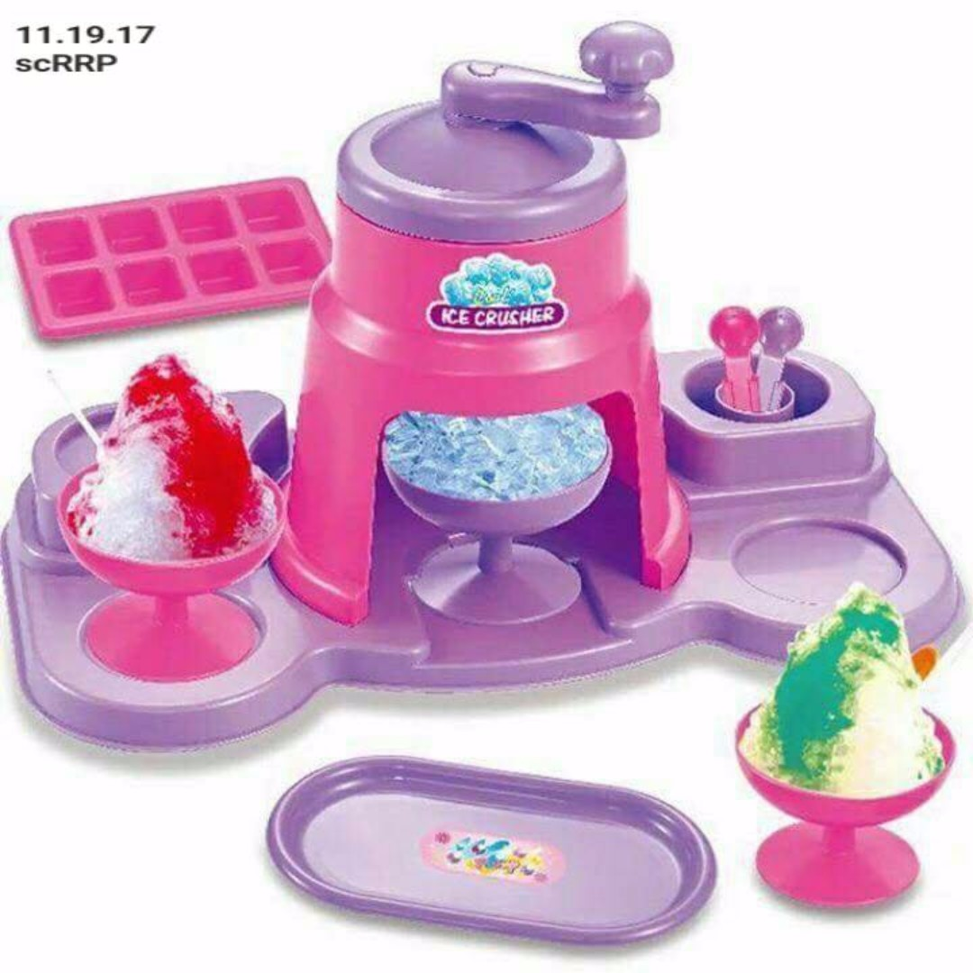 Ice Crusher Toy Set