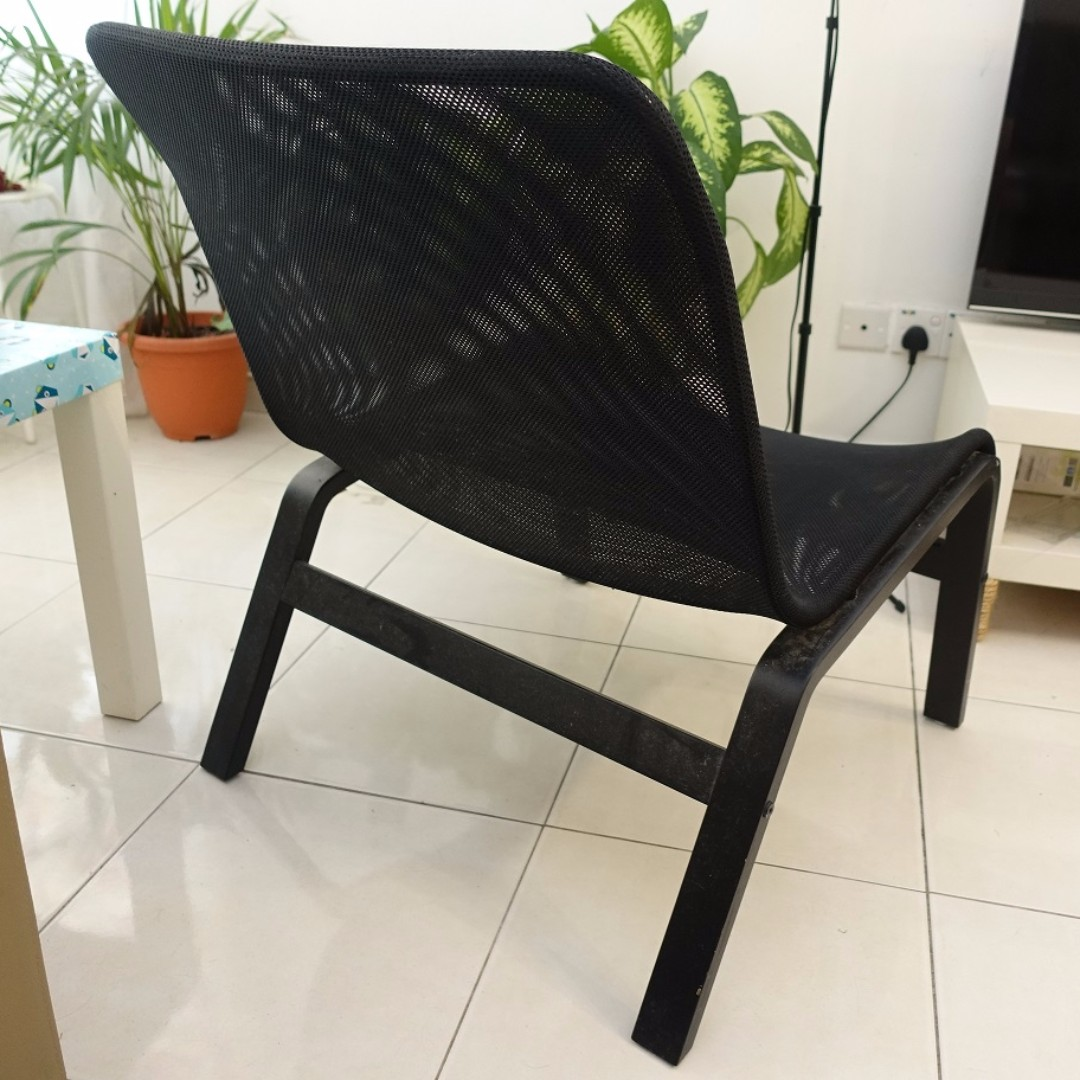 IKEA Nolmyra Easy Mesh Chair PRELOVED #MIDNOVEMBER50, Home U0026 Furniture,  Furniture On Carousell