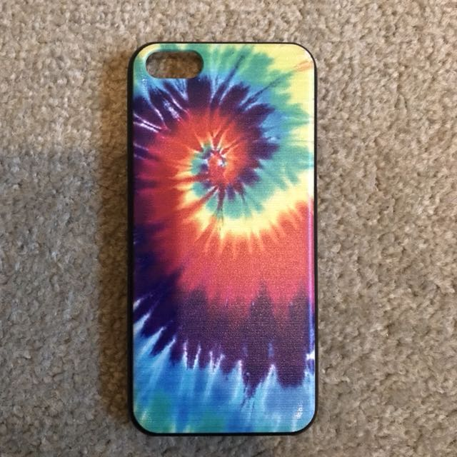iPhone 5c Tie Dye Plastic Case