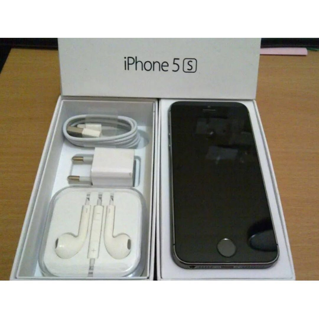 Iphone 5S 64gb Grey (active warranty 8months later)
