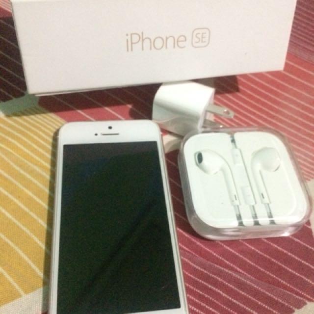iPhone SE (Rose Gold 32gb)