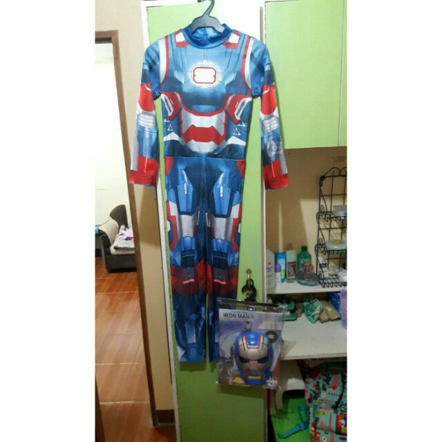 Costume: Iron Man 3 w/ Mask