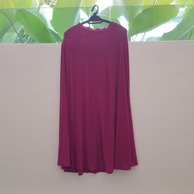 Jersey Flare Skirt from Milktee.nu