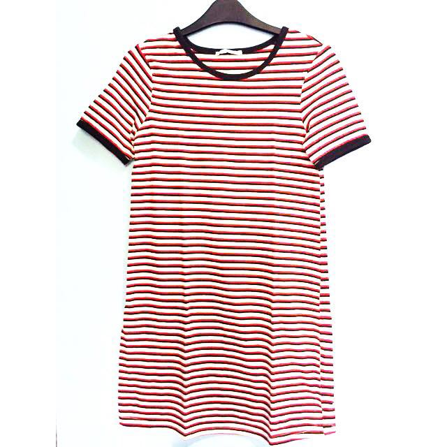 Kaos zara stripes