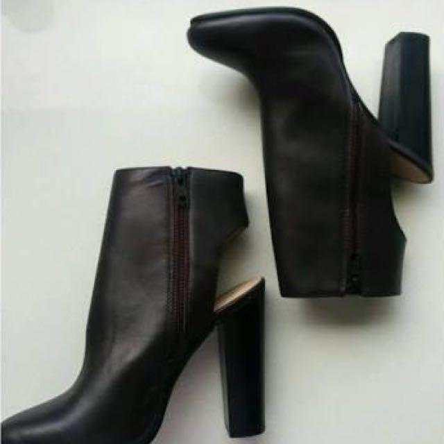 Kookai Mulberry Heel Boots
