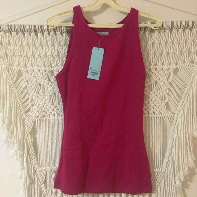 Kookai size 2 fitted tank - new with tags