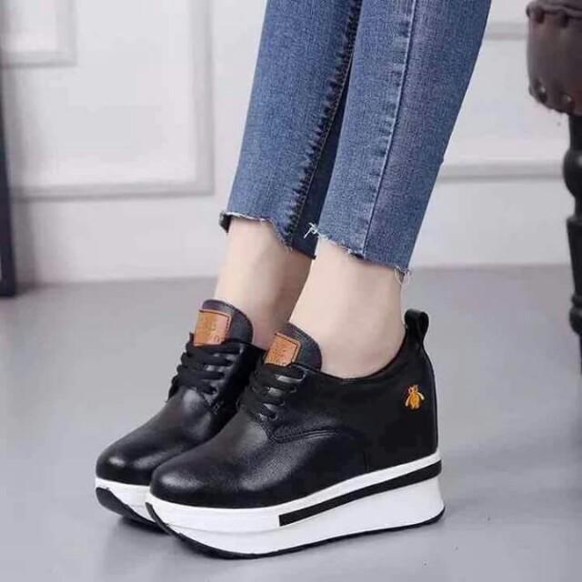 5328aee7b0b Korean Hidden Wedge Shoes