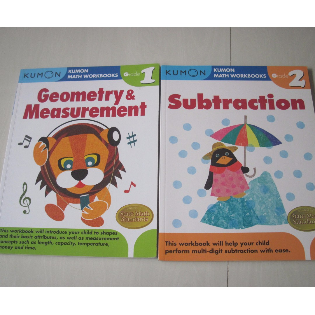 Workbooks buy kumon workbooks : Kumon Books, Books & Stationery, Children's Books on Carousell