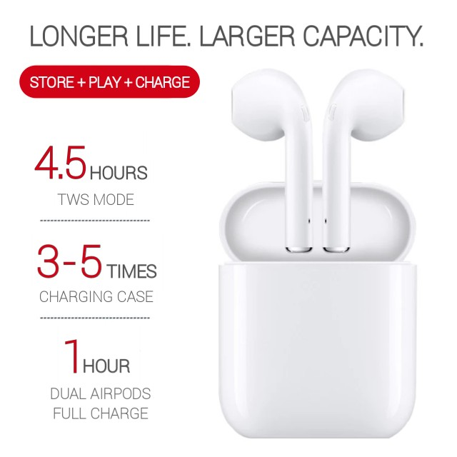 【NEW】i9S Wireless Stereo Airpods with Magnetic Charging Case