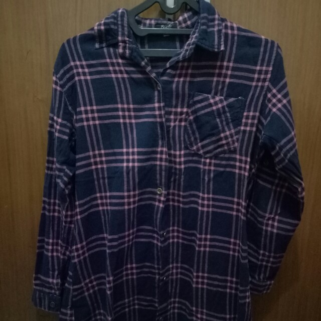 Long Flanel T-shirt