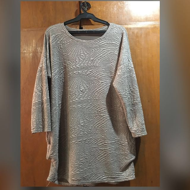 Long Sleeve Top (Plus Size)