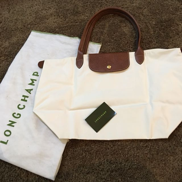 LONGCHAMP White Bag