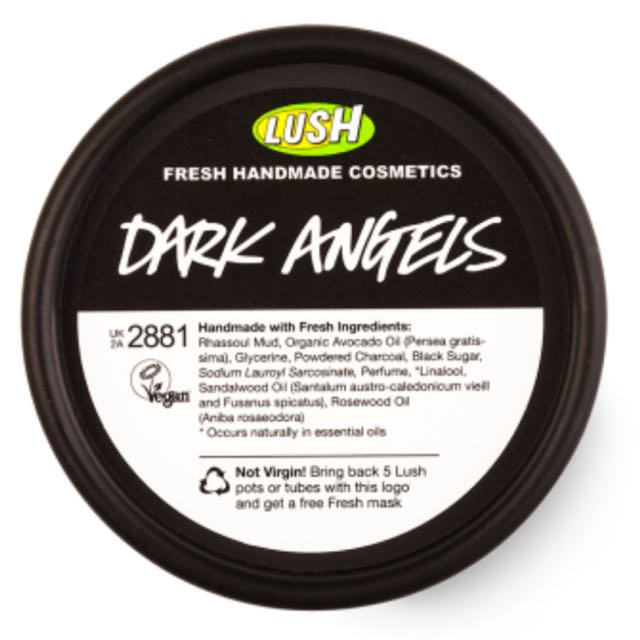 Lush Dark Angels Fresh Cleanser