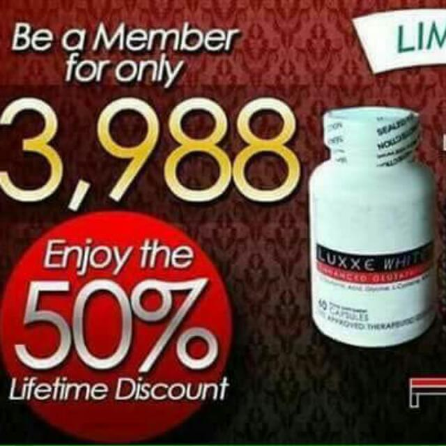 LUXXE WHITE AND SOAP 100% EFFECTIVE