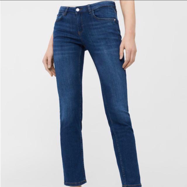 MANGO Alice Jeans in Black