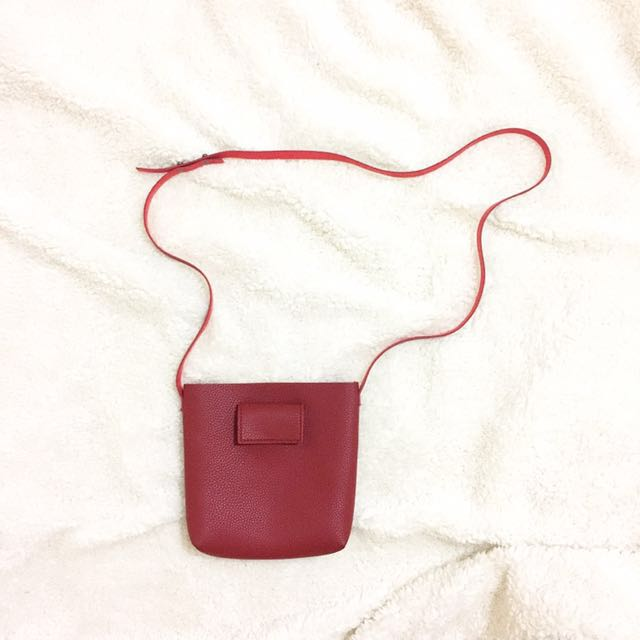 Maroon Mini Bag