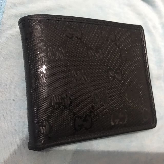 0988c3304377 Men Gucci Wallet authentic, Luxury, Bags & Wallets on Carousell