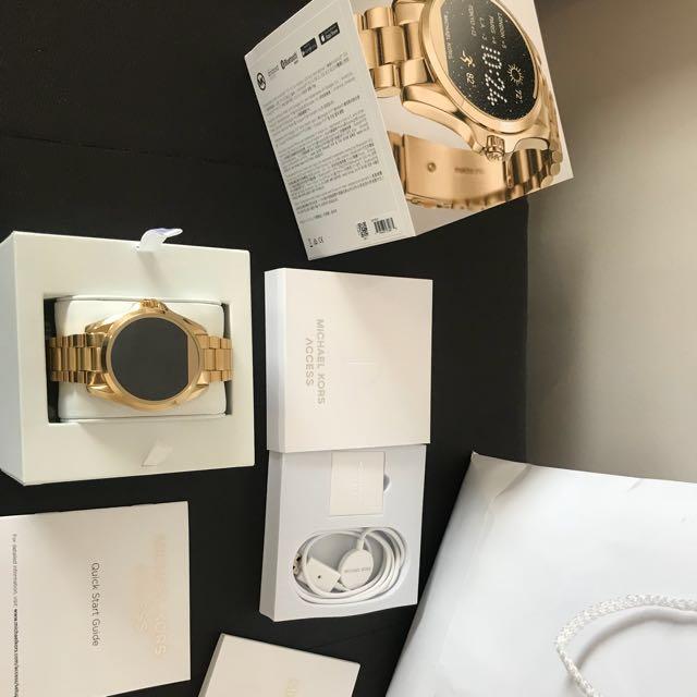 Michael Kors Access Smart watch GOLD
