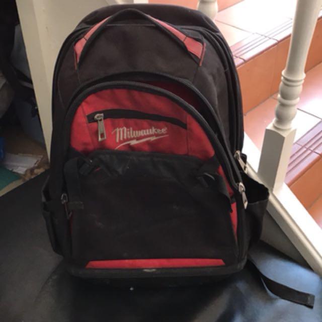 Milwaukee tools backpack
