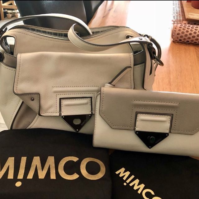 Mimco Bag and Wallet Set