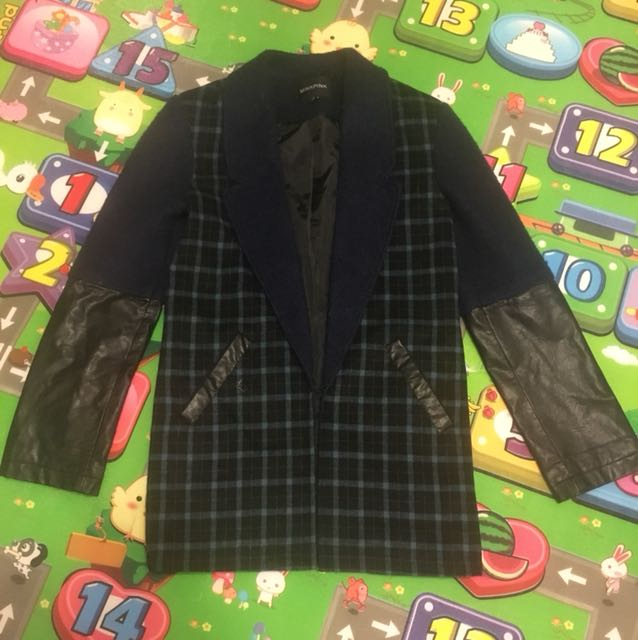 Mink pink coat size S oversize style