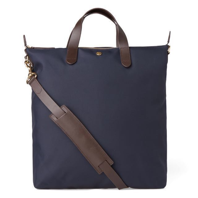 Mismo M S Per Navy Dark Brown Tote Bag Men Fashion Bags Wallets On Carou