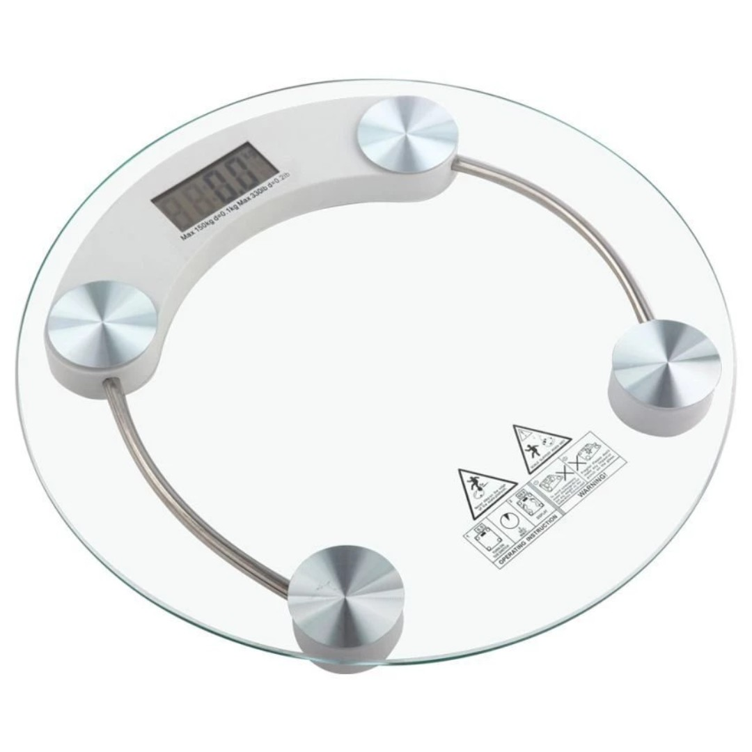 Modern & Sleek Personal Digital LCD Weighing Scale Bathroom Scale